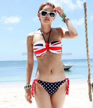 0002 2015 wholesale fashion hot sale new young girl sexy slip 2 pieces triangle bikini