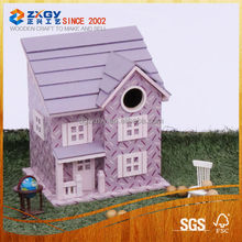Eco-friendly Wooden Bird Cage,Hot Sale Wooden bird house ,High Quality wooden bird nest