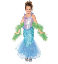 Mermaid Girl fairy tail cosplay costume for kids