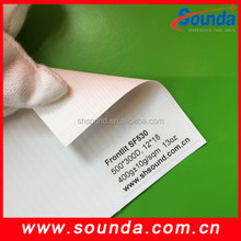 laminated pvc flex banner frontlit glossy surface 50m roll