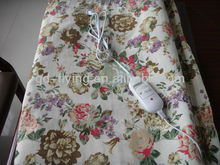 Hot Sale! Fashion Printed Cotton/Polyester Electric Heating Blanket Washable