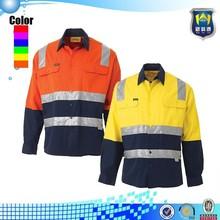 Camisetas de alta visibilidade, segurança do trabalho camisa, workwear oi vis