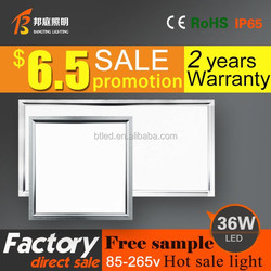 600*600 50% discount 36w 600*600 led panel light square ultra thin led light