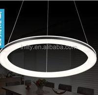LED ring pendant light