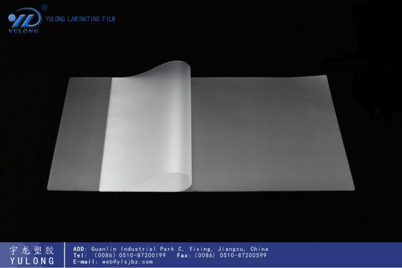 Hochglanz und transparent Textur a3/a4/A5/A6 folientasche film