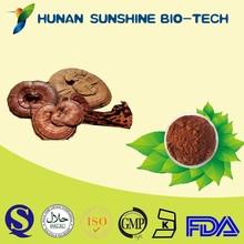 GMP Factory Supply Dark Brownish Powder Lucid Ganoderma Extract
