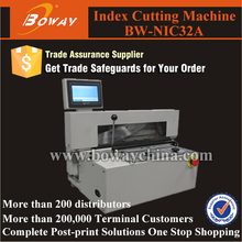Copy shop printing house office school index cutting machine