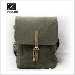 hot sale army green canvas Messenger bag, canvas tote bag, drawstring bag for students