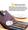 Smart Key Wallet Remote Finder Bidirection Anti-Lost Swalle Anti-Theft Alarm from swalle