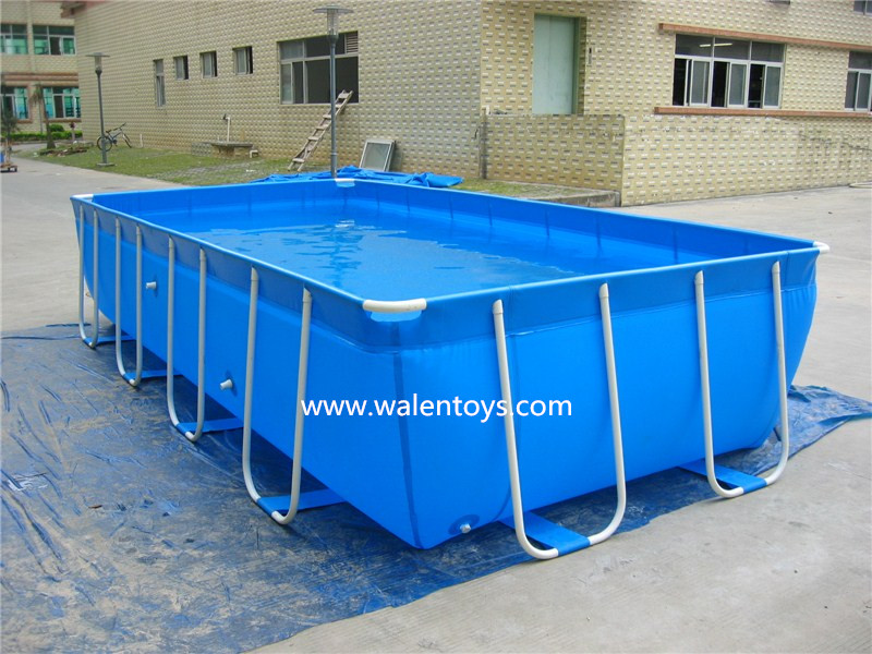 Rectangular frame pools bestway metal frame pool set rectangular buy rectangular frame pools - Steel frame pool ...