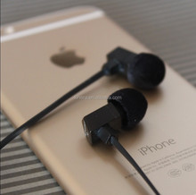 In-Ear Style Flat Cable Earpeice Earphone with Balanced Armature Speakers