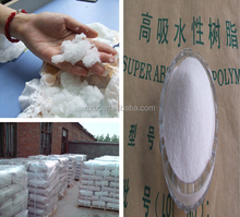 High quality super absorbency polymer raw material for diapers