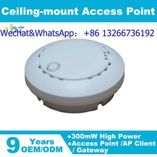Celling mount/ 300Mbps Access Point MT7620N/ 580MHz with WPS&encrypt with PoE power