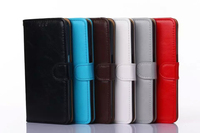 2015 new product leather cover vintage book style case for iphone6 ,mobile phone metal case