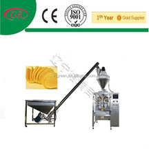 Filling packaging machine bag chips