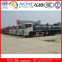 low price China tractor truck 6x4 336hp on sale chemical tank transportation truck