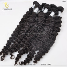 6A Cuticle Virgin Brazilian Hair Double Wefted Human Hair Extensions One