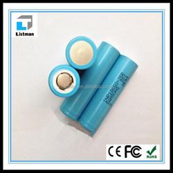 Samsung INR18650-25R 2500mah samsung 18650 battery 3.7v 18650 cell for e-cigs