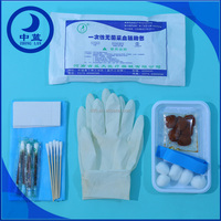 Disposable Sterile Blood Collection Care Kit for hospital use