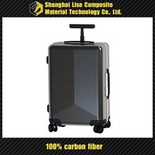 high strength carbon fiber suitcase soft trolley bag