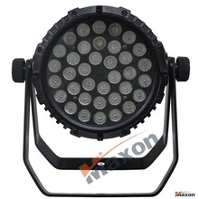 Maxon MLP-363A outdoor led par light RGB color mixings 36X3W waterproof stage par lighting with high power&low price