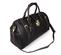 7281Q JMD Vintage Design Genuine Leather Mens Overnight Bag Weekend Duffel Travel Bag Wholesale