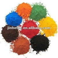 fe2o3 in pigment formula red yellow black