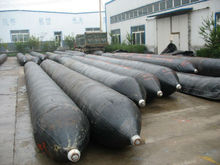 Ship salvage rubber airbags