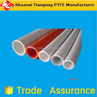 alibaba China Hot Sale Corrosion Resistance Impact Strength virgin PTFE red Tube in india