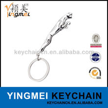 Y02413-1 Fashion design brand name jaguar keychain