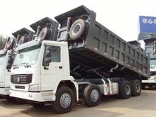 hot selling howo dumper truck 8*4 zz3317n3061 export to Nigeria