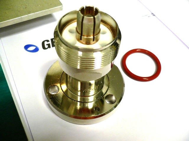 Genex adapter connector male to flange eia cod