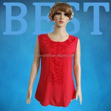 blouse baju plus size tank top