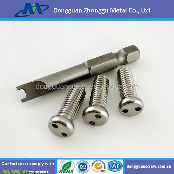 torx machine screws