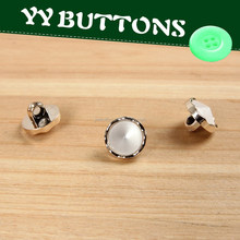 available brass metal round shape half ball button
