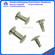 Various size steel chicago screw furniture connecting screws
