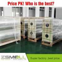 zsmell High Glossy and Mirror Effect PET Thermal Metalized Lamination Film Rolls for Printing and Packing