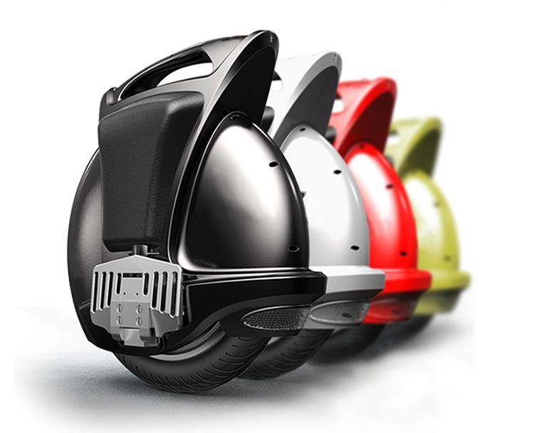 Bluetooth müzik bir tekerlek kendini denge scooter Elektrik Unicycle ile Cazip YENİ