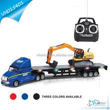Rc jouet électrique camion plate - forme de remorquage à vendre