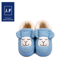 2015New style soft warm antiskid eva disposable slipper for kids