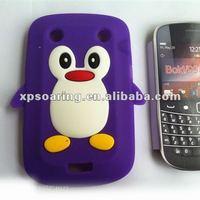 cute silicon case cover for blackberry 9900 9930