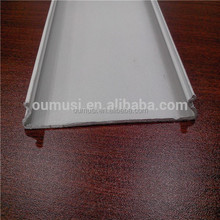 White ceiling decoration, C shaped aluminum strip false ceiling, decorative wooden ceilings