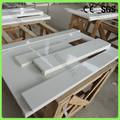 20mm pura quartzo branco pedra bullnose janela sills