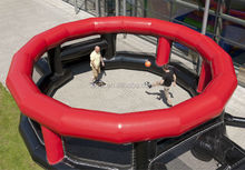 Newest Design Giant Inflatable Panna Soccer Cage/ inflatable football pitch