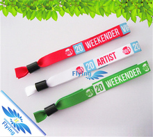 100% quality control cheap price printed Christmas wristbands