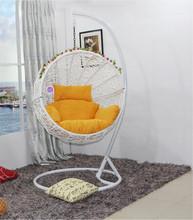 indoor bedroom kids swing chair egg shape swing hanging chair