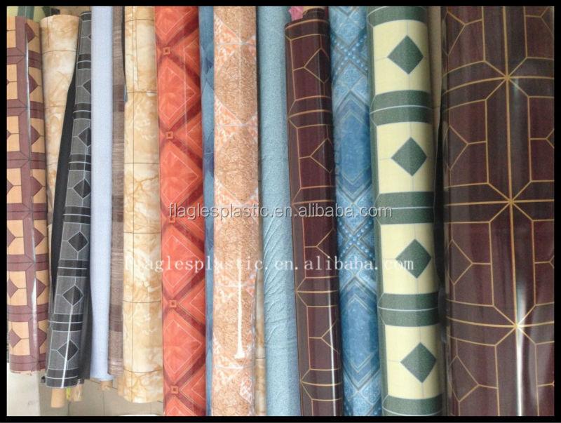 Platic rolls vinyl flooring looks like wood floors buy for Wood look linoleum roll