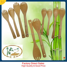 factory direct sale bamboo salad spoon and forks