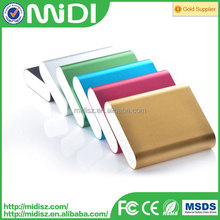 For travel! Hot Sale Top Quality power bank,mobile power bank,portable power bank for xiaomi large capacity 10400mah