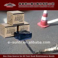 TE-I rubberized driveway crack sealer